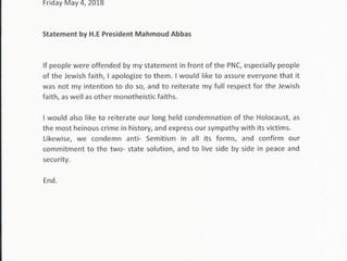 Statement von Präsident Mahmoud Abbas: