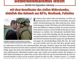 Israelische Armee durchsuchte mehrere Häuser in Bil'in
