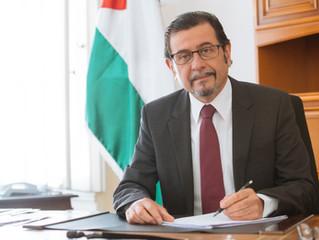 Palästinensischer Botschafter nach Rückberufung zurück in Österreich