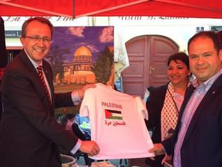 """Teilnahme Palästinas am """"Arabischen Tag"""" in St. Pölten"""