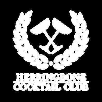 Herringbone Cocktail Club Logo White (1)