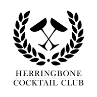 HBCC001 Herringbone Cocktail Club Logo B