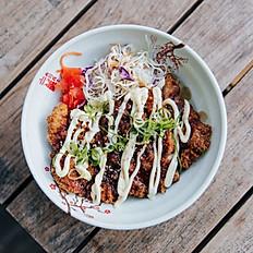Crispy Katsu Chicken Donburi