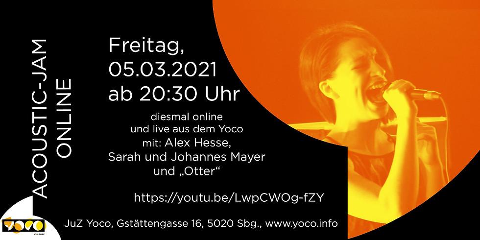 Yoco acoustic-jam online