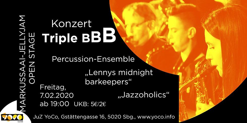 Konzert Triple BBB