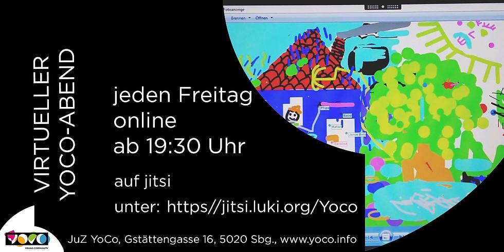 Virtueller Yoco-Abend