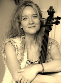 Hugging my cello