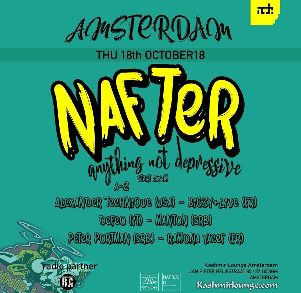 Amsterdam - Thursday October 18, 2018