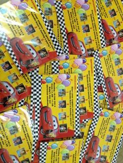 Sticker for Birthdays Celebration