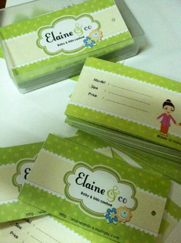 Name Card - Writeable