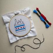 New Sip & Stitch Workshop! Sat., Aug. 11