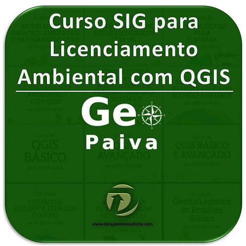 Curso SIG para Licenciamento Ambiental com QGIS (Cod. 064)