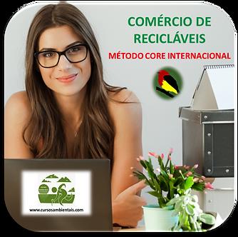 Comércio de recicláveis - Método CORE Internacional - (Cod. 019)