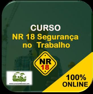 Curso Online - NR18 Básico em Segurança do Trabalho (Cod. 040)