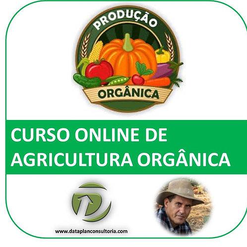 Curso Online de Produção Orgânica de Alimentos (Cód. 12)