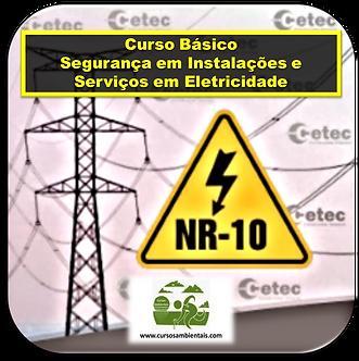 Curso de NR-10 Básico - Instalações e Serviços em Eletricidade - (Cod. 027)