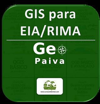 Curso de Aplicações GIS para EIA/RIMA - (Cod. 026)