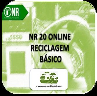 NR 20 BÁSICO - Reciclagem - Segurança com inflamáveis (Cod. 054)