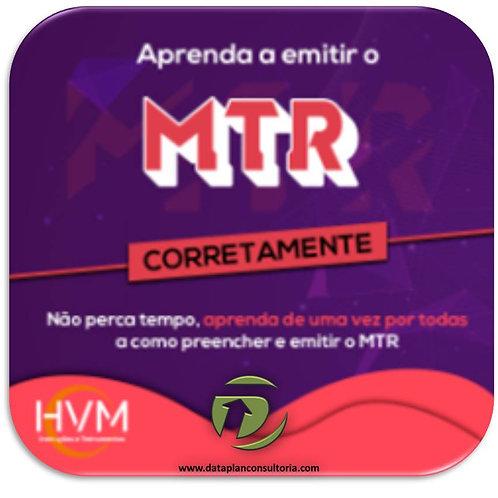MTR - Aprenda a PREENCHER e EMITIR (Cód. 003)