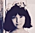真行寺君枝 KIMIE SHINGYOJI子供時代の写真