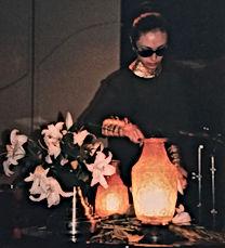青山スパイラルルームでの真行寺君枝 KIMIE SHINGYOJIのパフォーマンの写真