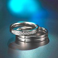 ピトー|結婚指輪|クロスフラット