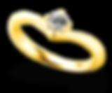 ブリディア 婚約指輪 フラワーエンブレス