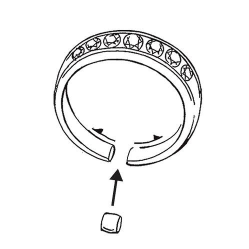 指輪|サイズ直し|大きくする