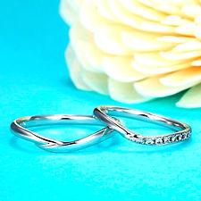 星の砂 結婚指輪