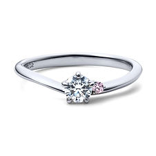 星の砂なでしこ 婚約指輪 シリウス