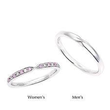 星の砂なでしこ 結婚指輪 アルタイル