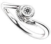 ブリディアロゼ|婚約指輪|ポンパドール