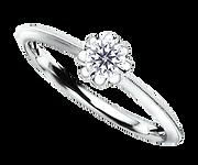 ブリディアロゼ|婚約指輪|ルージュ
