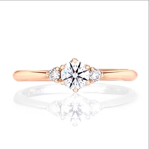 星の砂 婚約指輪