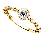ブリディアロゼ|婚約指輪|カーマイン