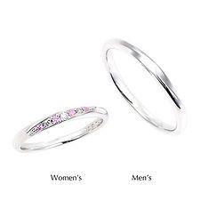 星の砂なでしこ 結婚指輪 アリエル