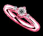 ブリディアロゼ|婚約指輪|エクリュ