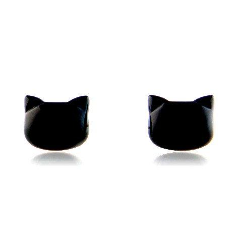黒猫のピアス