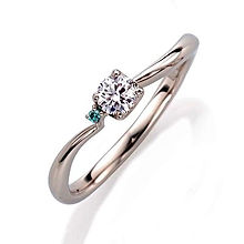ピンキー&ダイアン 婚約指輪