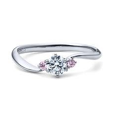 星の砂なでしこ|婚約指輪|アリア