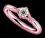 ブリディアロゼ|婚約指輪|マンダリーヌ