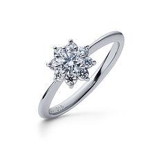 星の砂 婚約指輪 フレア.jpg