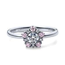 星の砂なでしこ 婚約指輪 レオーネ