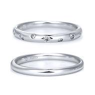 星の砂 結婚指輪 コスモ.jpg