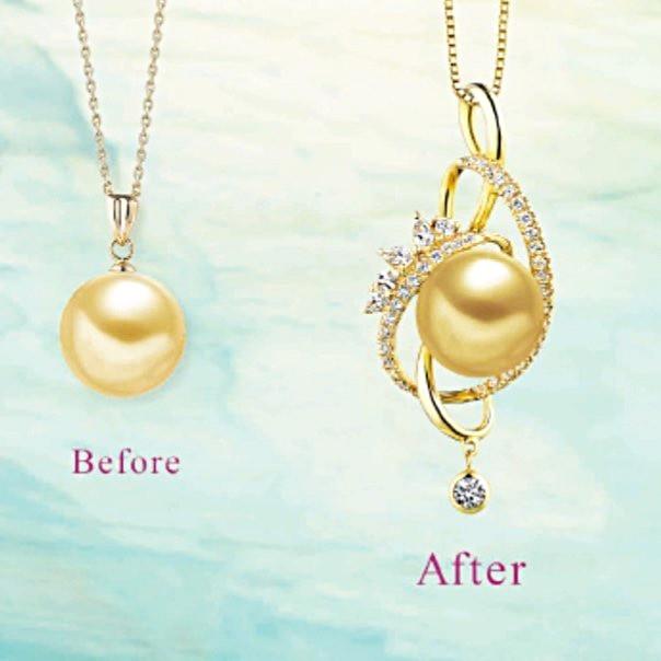 真珠のリフォーム