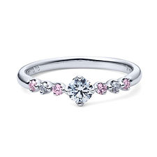 星の砂なでしこ 婚約指輪 ミラ
