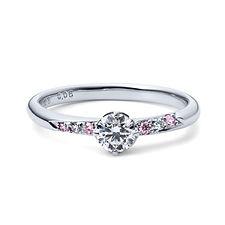 星の砂なでしこ 婚約指輪 アリエル