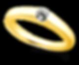 ブリディア 婚約指輪 ハグ