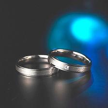 ピトー|結婚指輪|ミストフラット