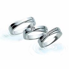 アクアカーブ|結婚指輪